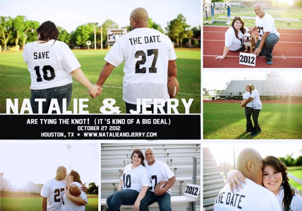 Angee's Eventions: Football Themed Wedding Ideas