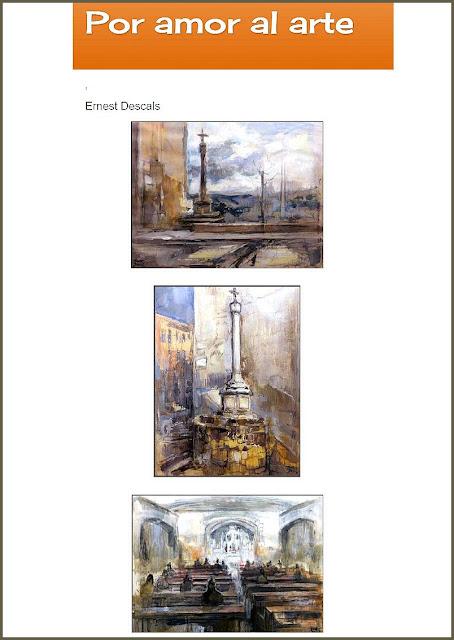 ERNEST DESCALS-ARTISTA-PINTOR-PINTURA-CUADROS-POR AMOR AL ARTE-ARTICULOS