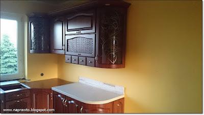 kamien na blacie w kuchni