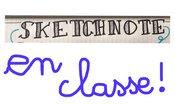 Sketchnote en classe