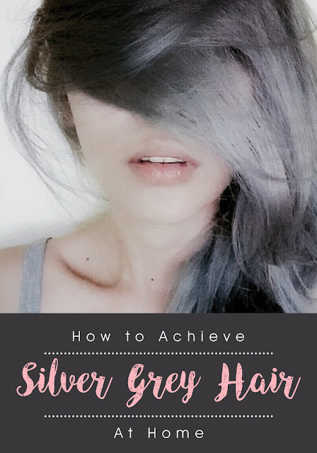 Achieve Silver Grey Hair