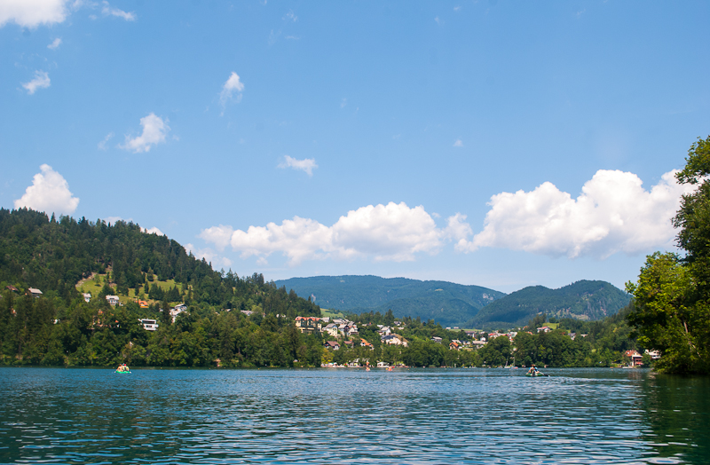 Image from lake bled slovenia - nature scenery