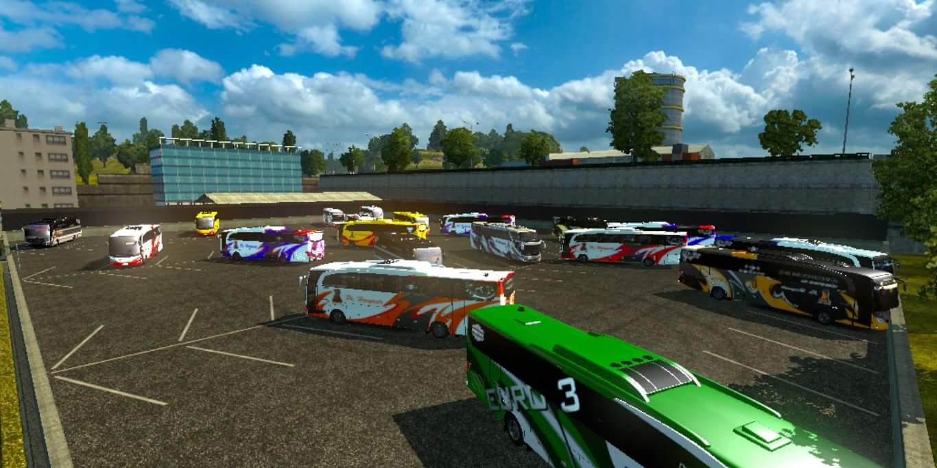 Traffic Spesial Po Haryanto Mod Ets2 Indonesia Euro Truck Simulator 2 V130 Dan
