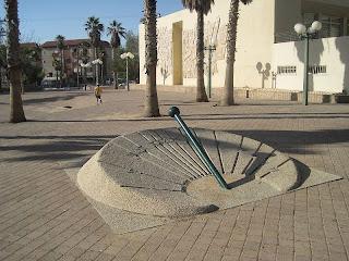 Sundial in Yerucham