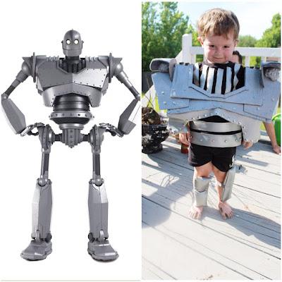 Halloween costume DIY The Iron Giant