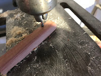 Drilling a 1/8 inch hole
