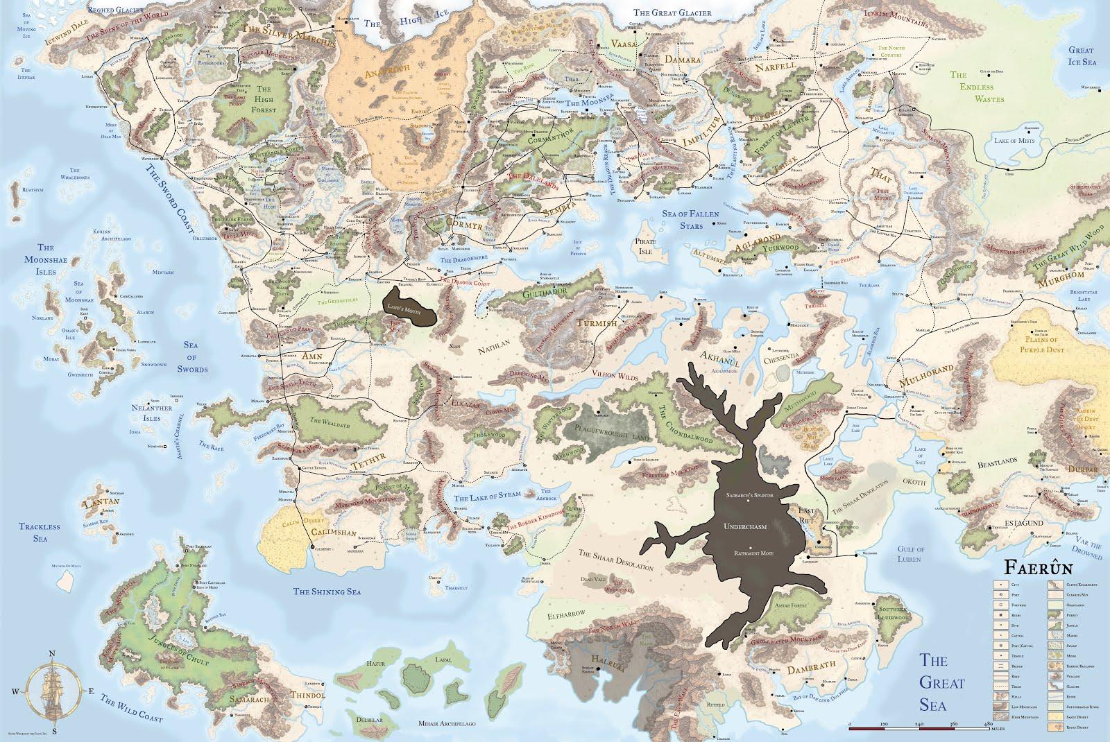 Toril map
