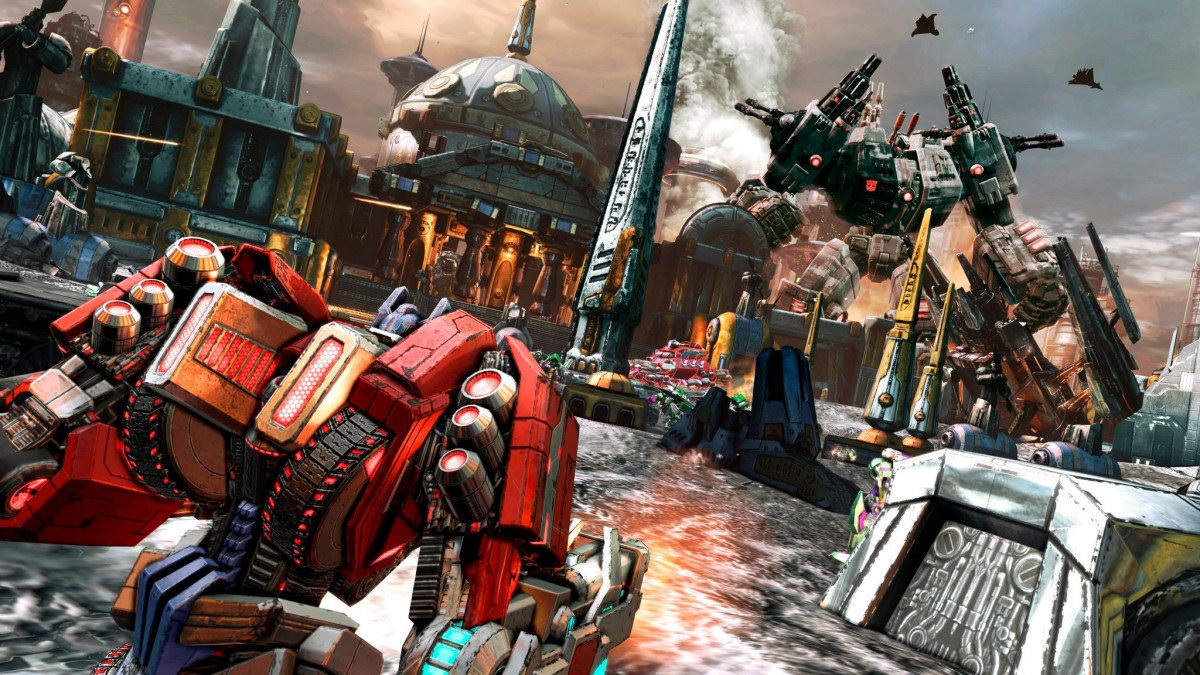 Transformers Fall Of Cybertron Wallpaper 1920x1080 Game World Transformers Fall Of Cybertron