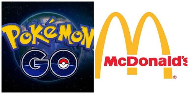 O logotipo do restaurante fast-food aparece no código da aplicação e o chefe da Niantic confirma que Pokémon GO tem intenção de criar sites patrocinados.
