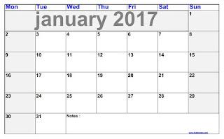 blank calendar January 2017 blank calendar pages blank calendar templates a blank calendar for January 2017 blank calendar by days ez printable calendar the printable calendar blank calendar on one page blank calendar 30 days