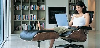Nada melhor do que trabalhar no conforto da sua casa