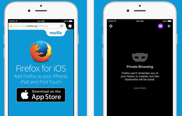 تنزيل متصفح فايرفوكس للايفون Firefox for iPhone