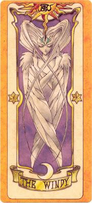 carte tirée de Card Captor Sakura