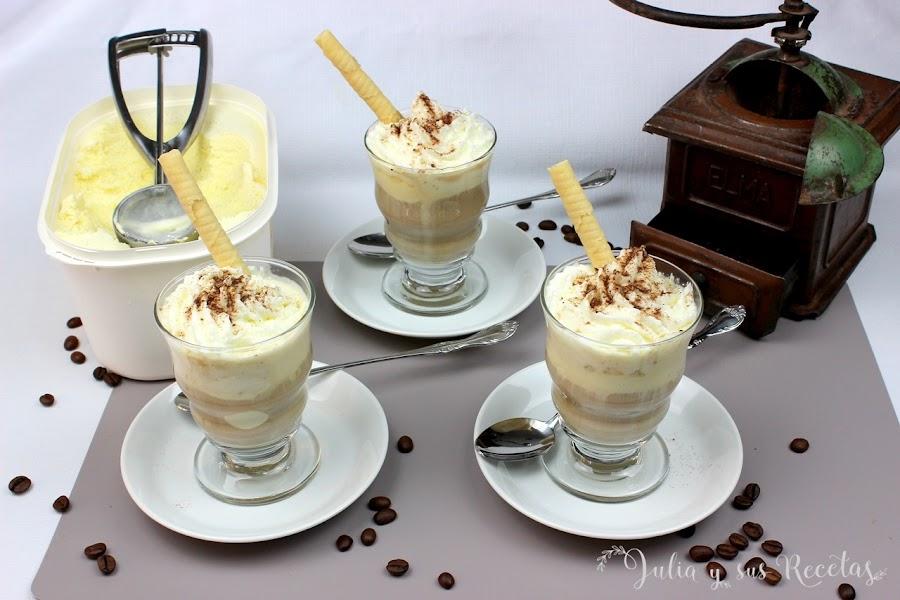 Café helado. Julia y sus recetas