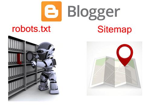 اضافة ملف sitemap و ملف robots.txt فى بلوجر