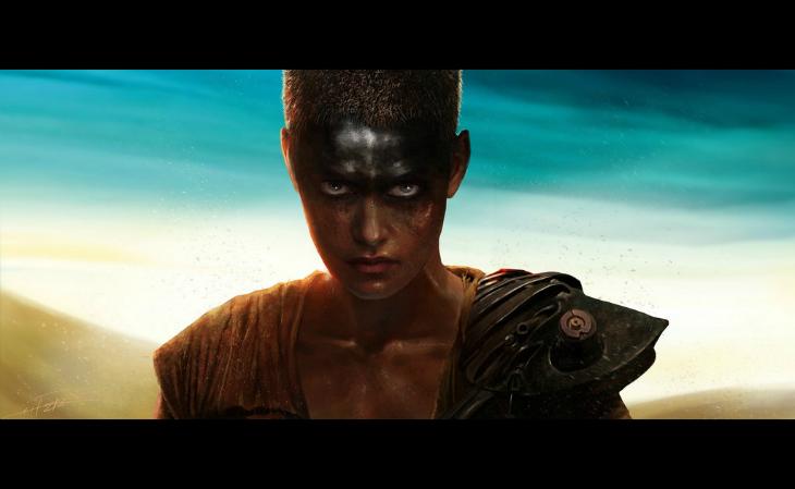 Imperator Furiosa – die Kriegerin, die zu hoffen wagte (Mad Max: Fury Road). Illustration © Rahzzah – rahzzah.deviantart.com // fieberherz.blogspot.com