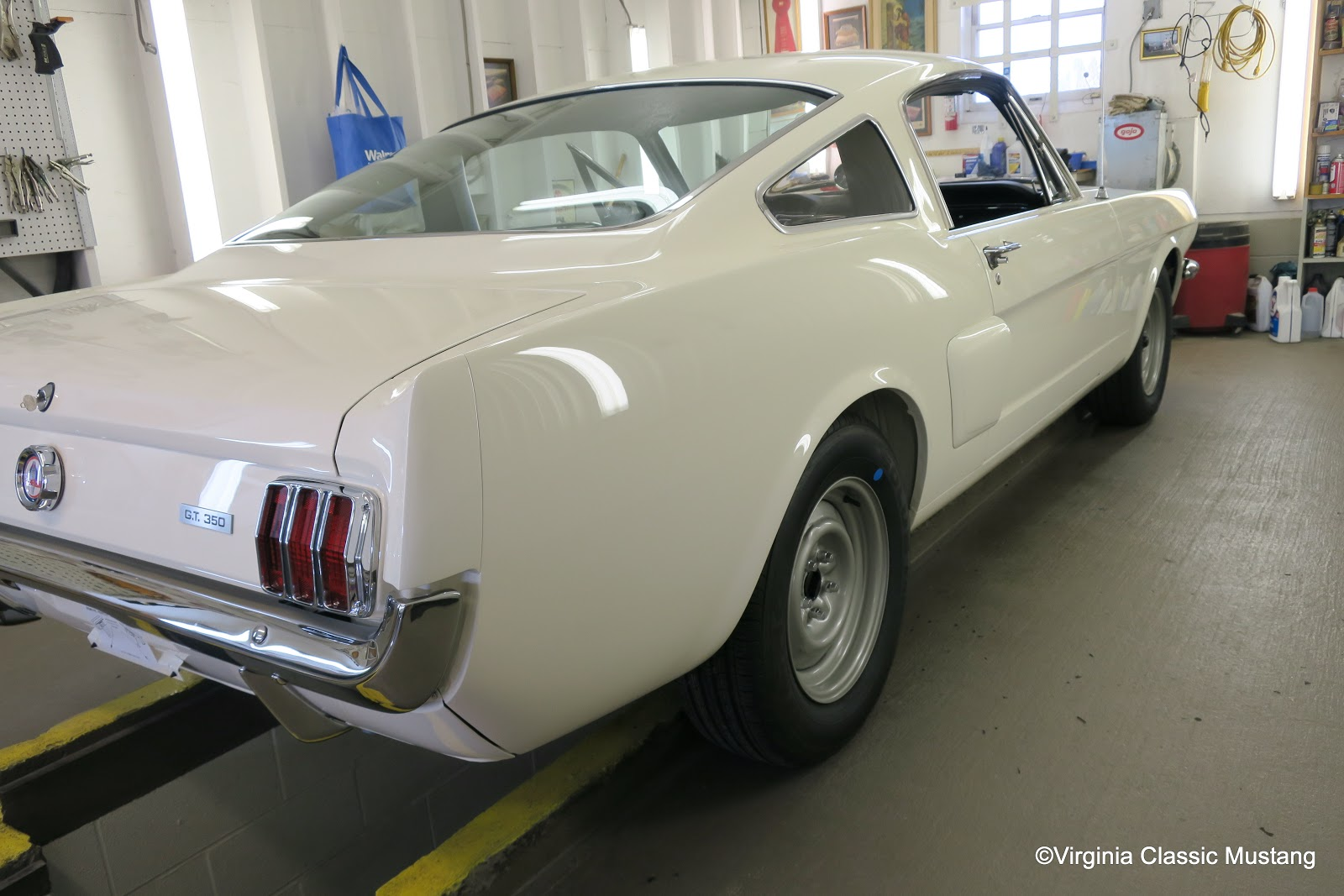 Just the details 1966 shelby gt350 mustang restoration