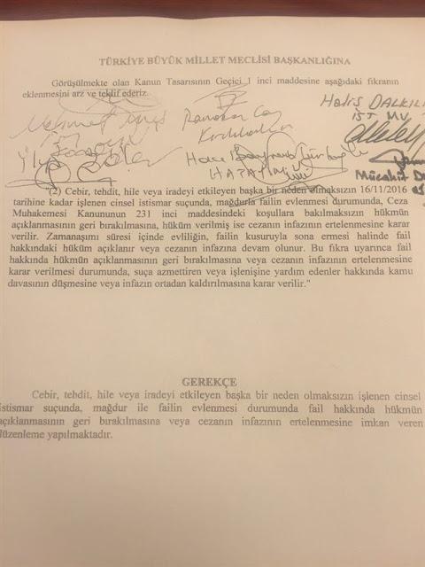 Mustafa Kemal ATATÜRK'ün İmzaladığı Cinsel İstismar(!) Yasası
