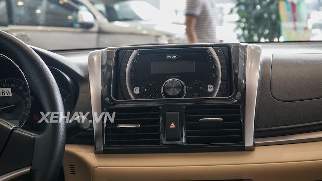 vios 15e cvt 11 - Cận cảnh Toyota Vios 1.5E CVT mới ra mắt Việt Nam