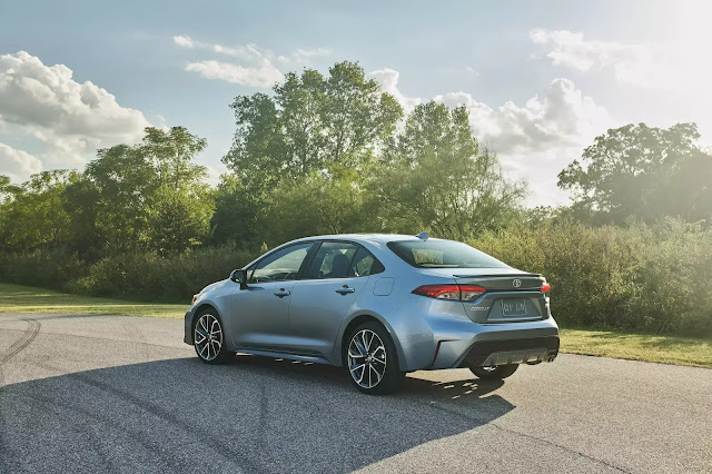 See The All-New 2020 Toyota Corolla Ready To Rock The Sedan World