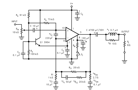 68w Power Amplifier With Lm3886 Circuit Diagram - Wiring ... on
