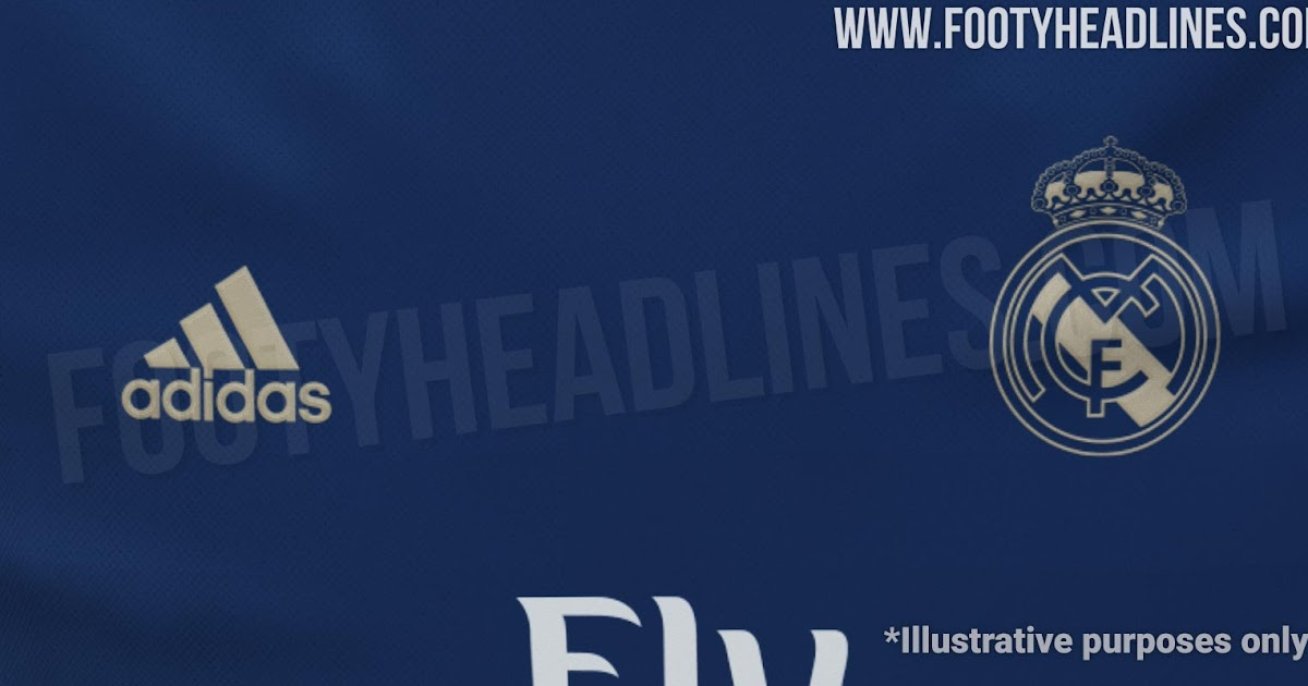 Real Madrid 19 20 Away Kit To Be Navy Amp Gold Footy Headlines