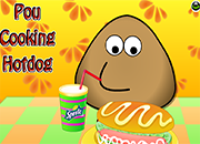 Pou Cookig Hot Dog