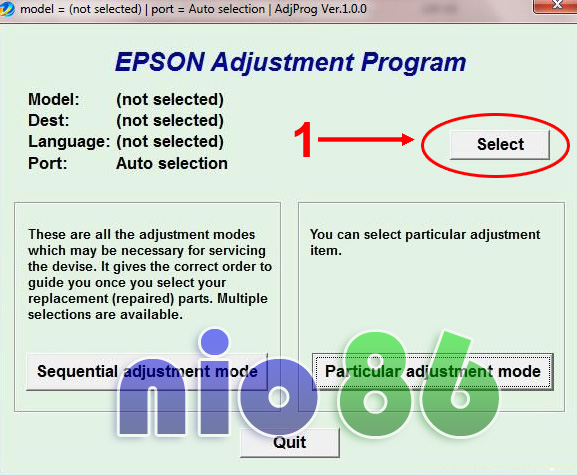 Epson L110, L210, L300, L350 and L355 Blink Reset - Computer