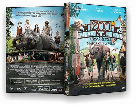 CAPA DVD – Zoo Uma Amizade Maior Que A Vida – AUTORADO