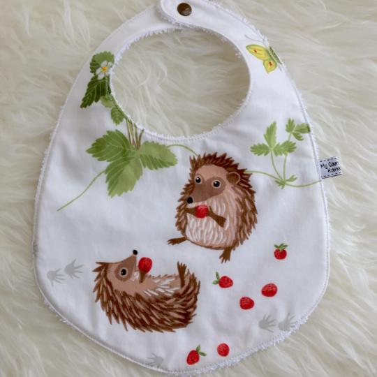 bavaglino handmade animali del bosco