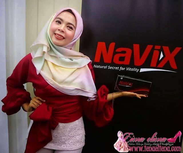 NaViX Makanan Kesihatan Untuk Melegakan Stress Dan Meningkatkan Tenaga Zahir Dan Batin