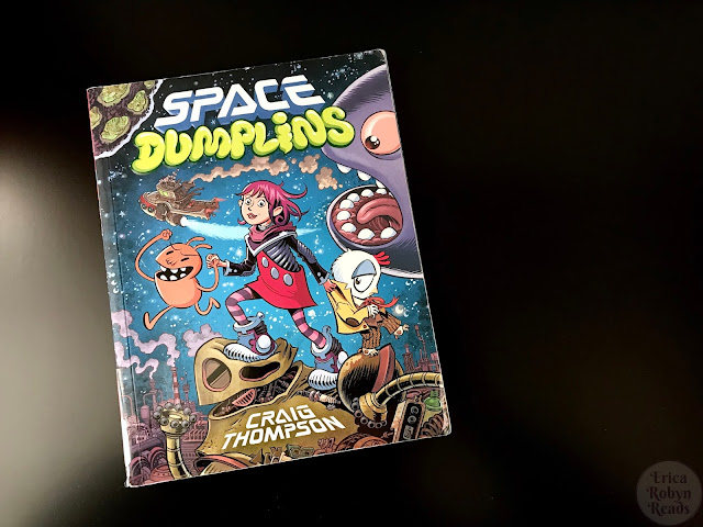 Graphic Novel Review of Space Dumplins by Craig Thompson
