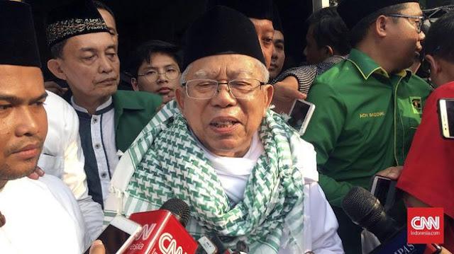 Koalisi Santri Akan ke Kantor MUI Tuntut Ma'ruf Amin Mundur