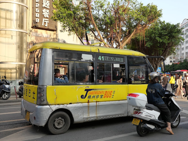 mini Jumbo Wuzhou Bus (梧州珍宝巴士)