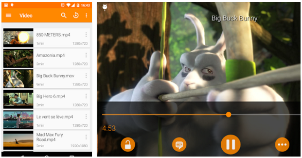 VLC Player For Android Screenshots