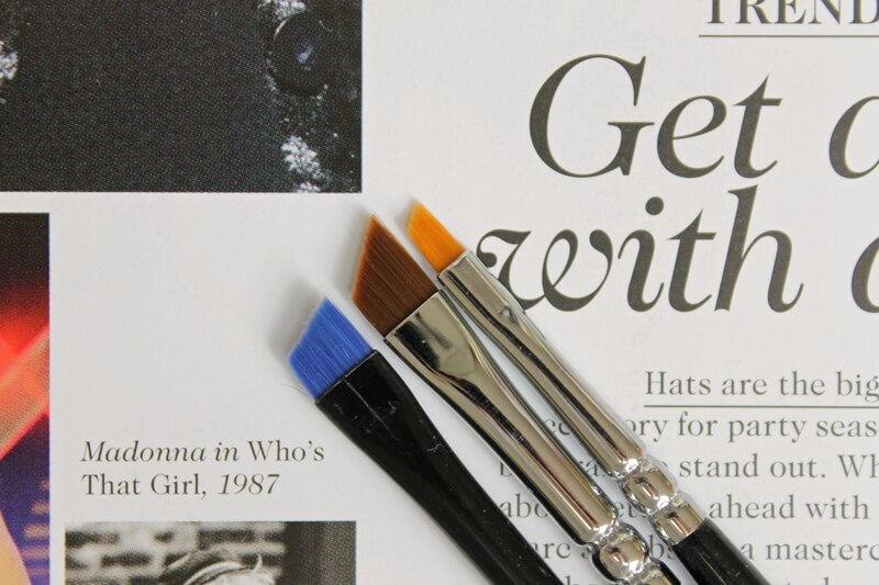 Essence Liner Brush, Zoeva 317, Zoeva 312 review recenzija comparisson