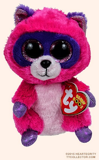 15b16f25b9b I am going to do the Beanie Boo Talk About. I am going to pick Roxie the  Raccoon!