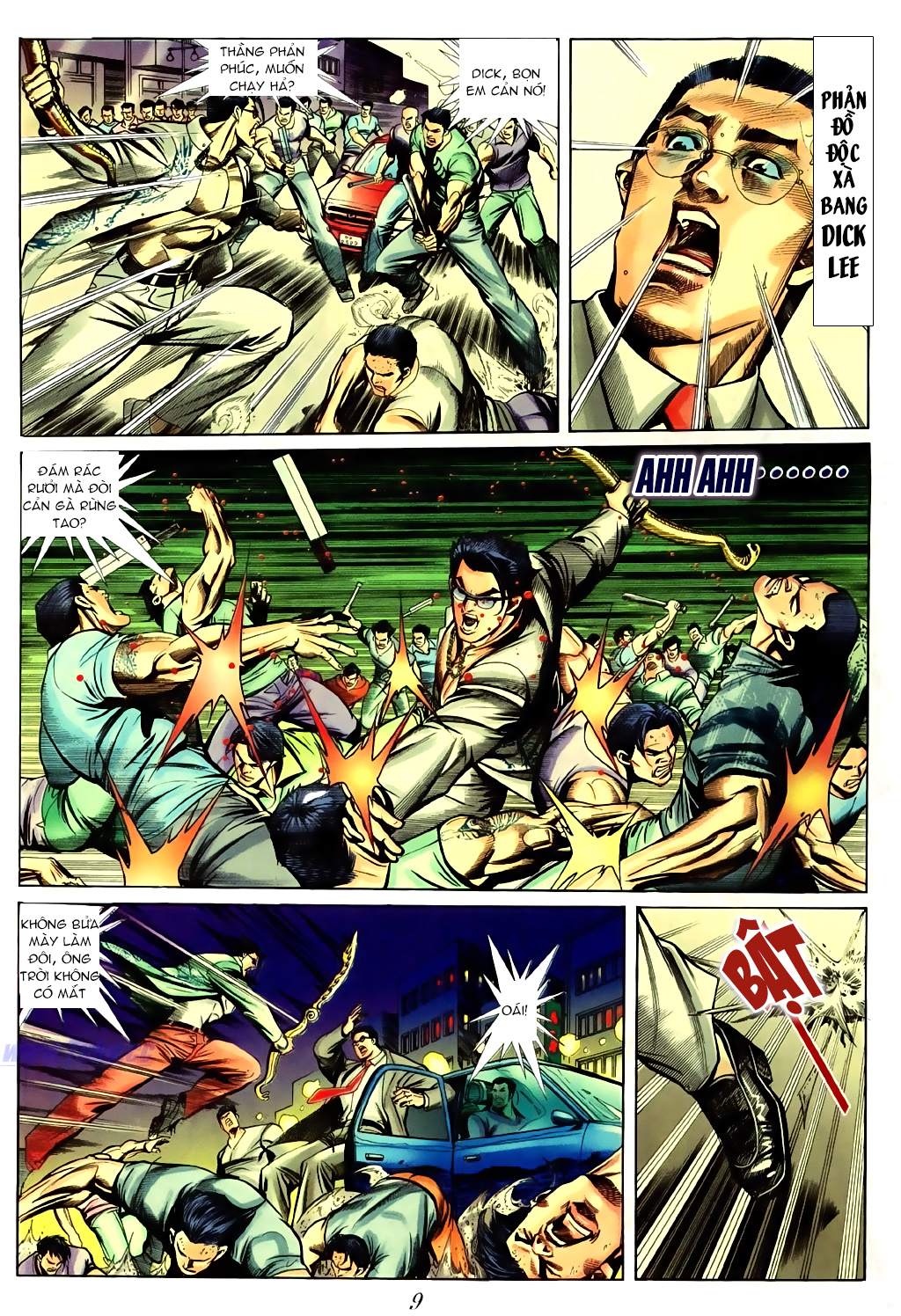 Người Trong Giang Hồ chapter 430 trang 5