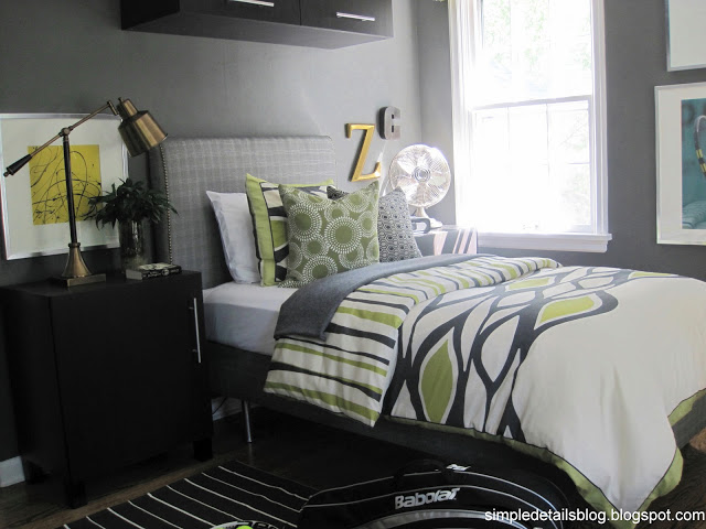 amazing gray green teen bedrooms | Simple Details: home tour...