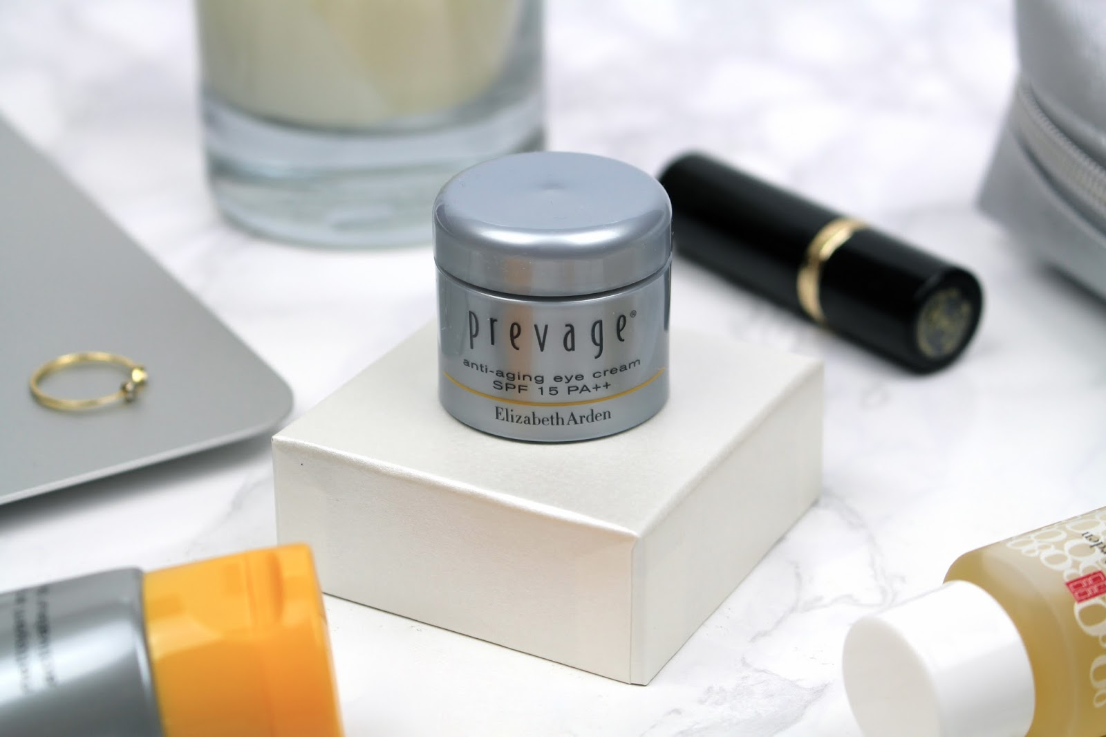 Elizabeth Arden Prevage Anti-Aging Eye Cream blog review