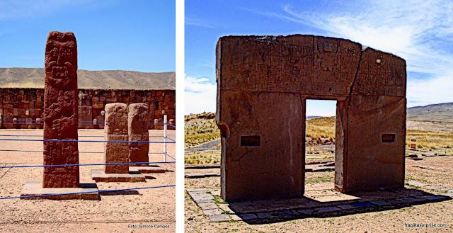 Porta do Sol - Tiwanaku - Bolívia