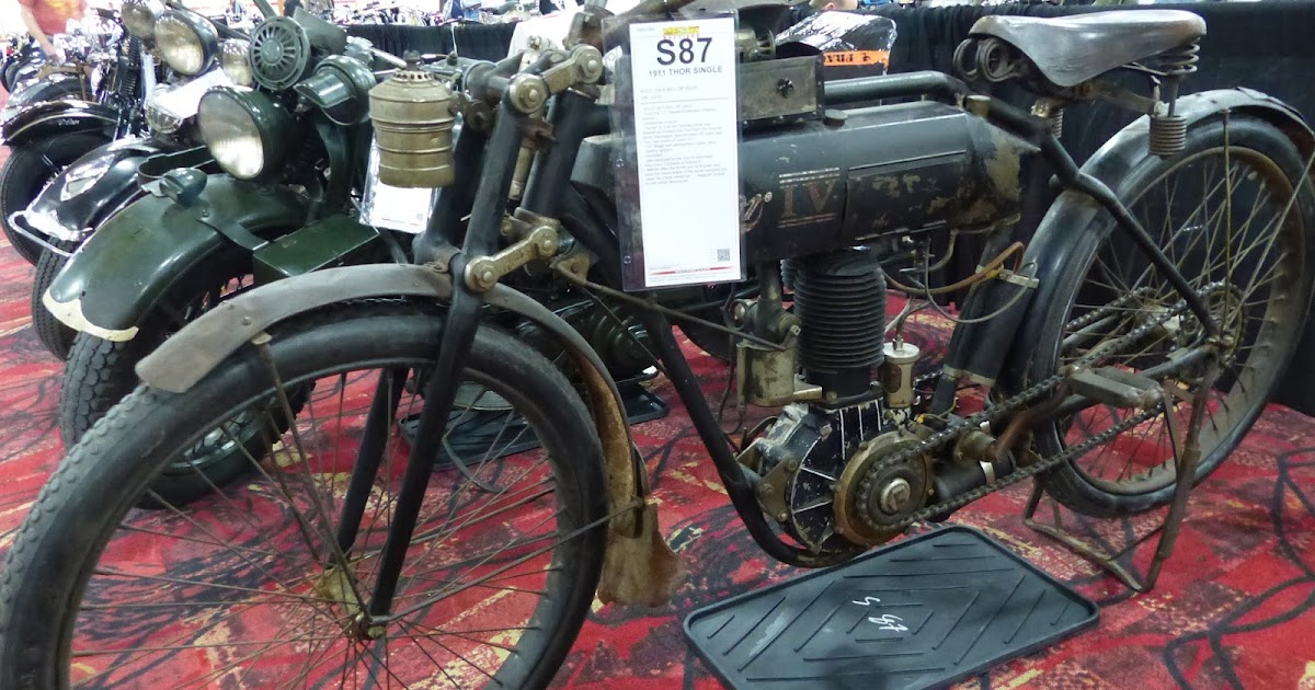 1970 Harley Davidson Evel Knievel Tribute: OldMotoDude: 1911 Thor Single Sold For $62,500 At The 2016