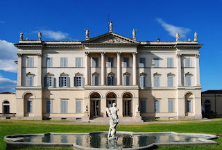 The Villa Tittoni Traversi, the former royal palace at Desio