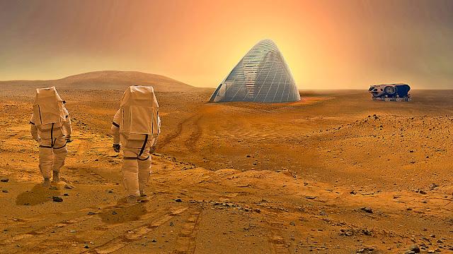 Ταξίδι χωρίς επιστροφή στον Αρη !!