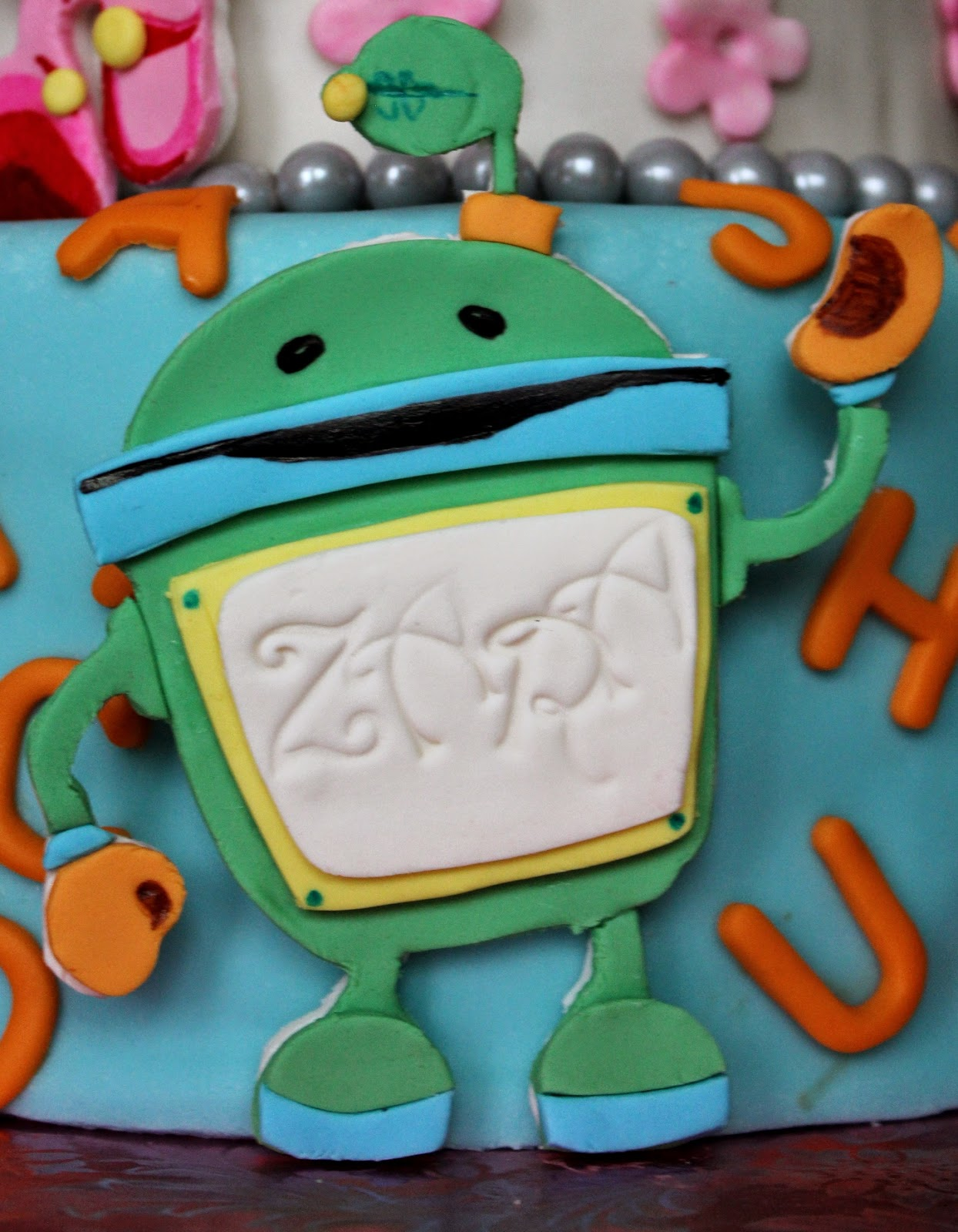 You Can Find The Team Umizoomi Toppers On My Etsy Store For Purchase Listing 217164680 2d Fondant Birthday Cake