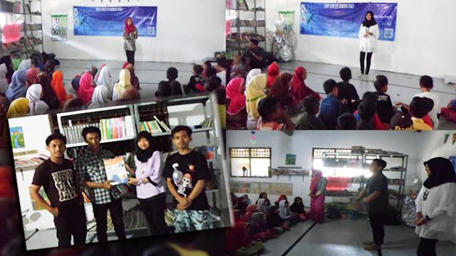 Pelatihan Jurnalistik LEMAPKA dan Mahasiswa STIAMI Bekasi