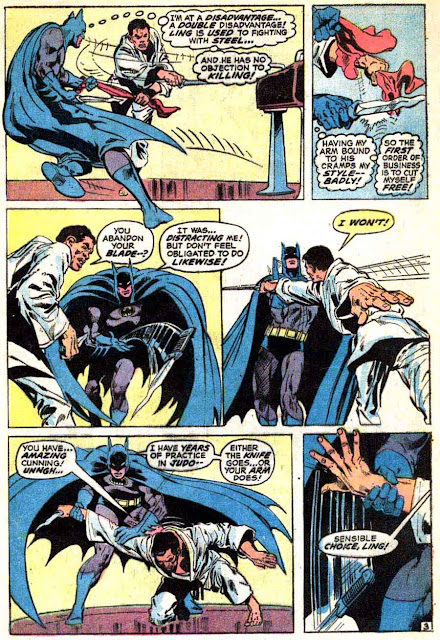 Batman v1 #243 dc comic book page art by Neal Adams