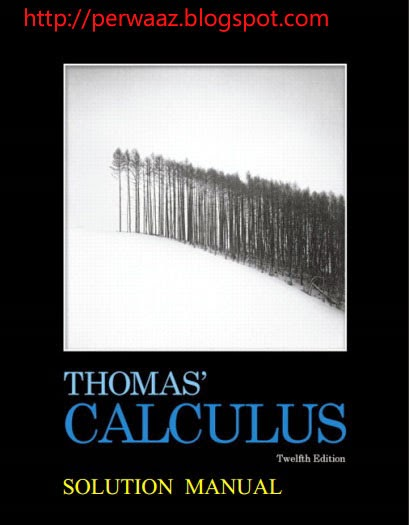 Thomas Finney Calculus 11th Edition Book Pdf