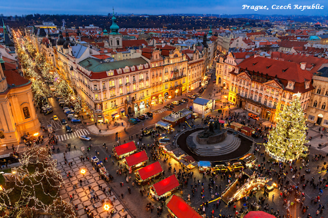 Prague on Christmas