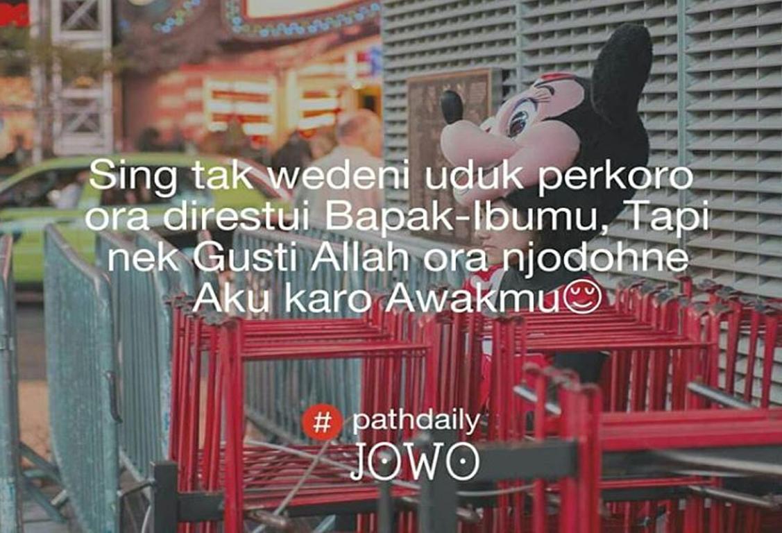 Kata Kata Pathdaily Cinta Bahasa Jawa - Noted B
